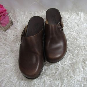 Timberland Leather Clogs